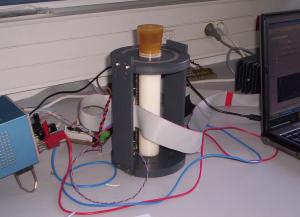 Figure 1 - Un prototype du SCAF, lors du développement de l'instrument.