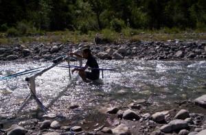 Mesures de turbulence en rivière